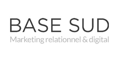 logo base sud agence marketing communication nice